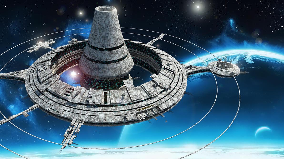science fiction atlantis space base - photo #41