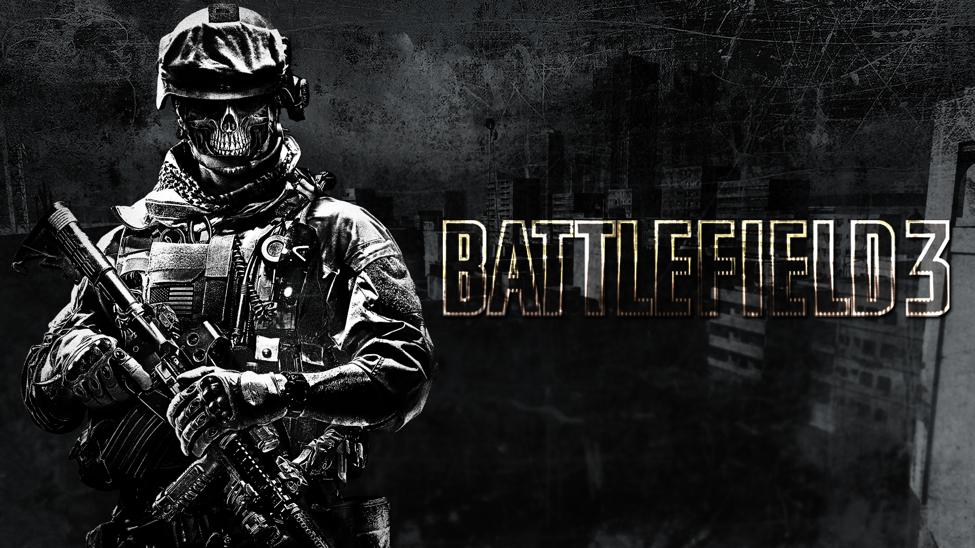 Battlefield Wallpaper Skull Battlefield 3 Wallpaper 2 by