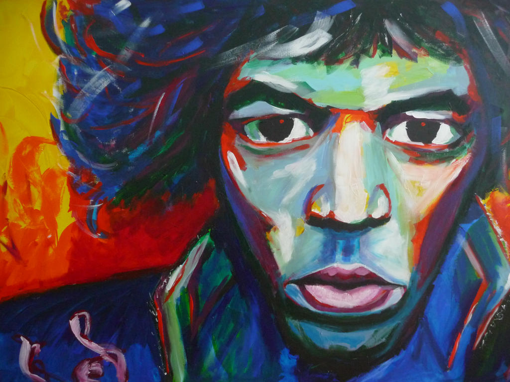 Jimi Hendrix - The Ultimate Experience by Delias-arts