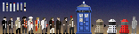 8-Bit Doctor Who Characters 1
