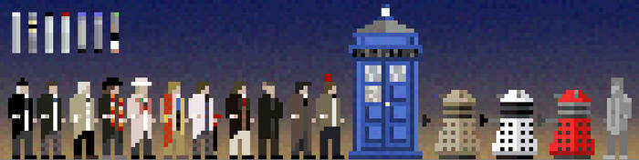 Doctor Who Pixels