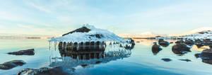 pingvellir chandelier - iceland