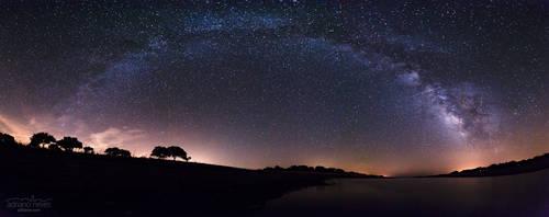 Alqueva's August Sky - Portugal, Alentejo by acseven
