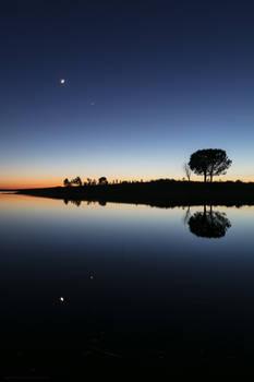 Venus and The Moon - Portugal, Alentejo