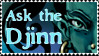 'Ask The Djinn' stamp by BATTLEFAIRIES