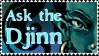 'Ask The Djinn' stamp