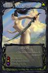 Card art: Orion by BATTLEFAIRIES