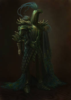 Viridian - the Peacock Knight