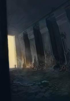 Basalt Temple Overturned