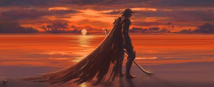 Sunset Guardian