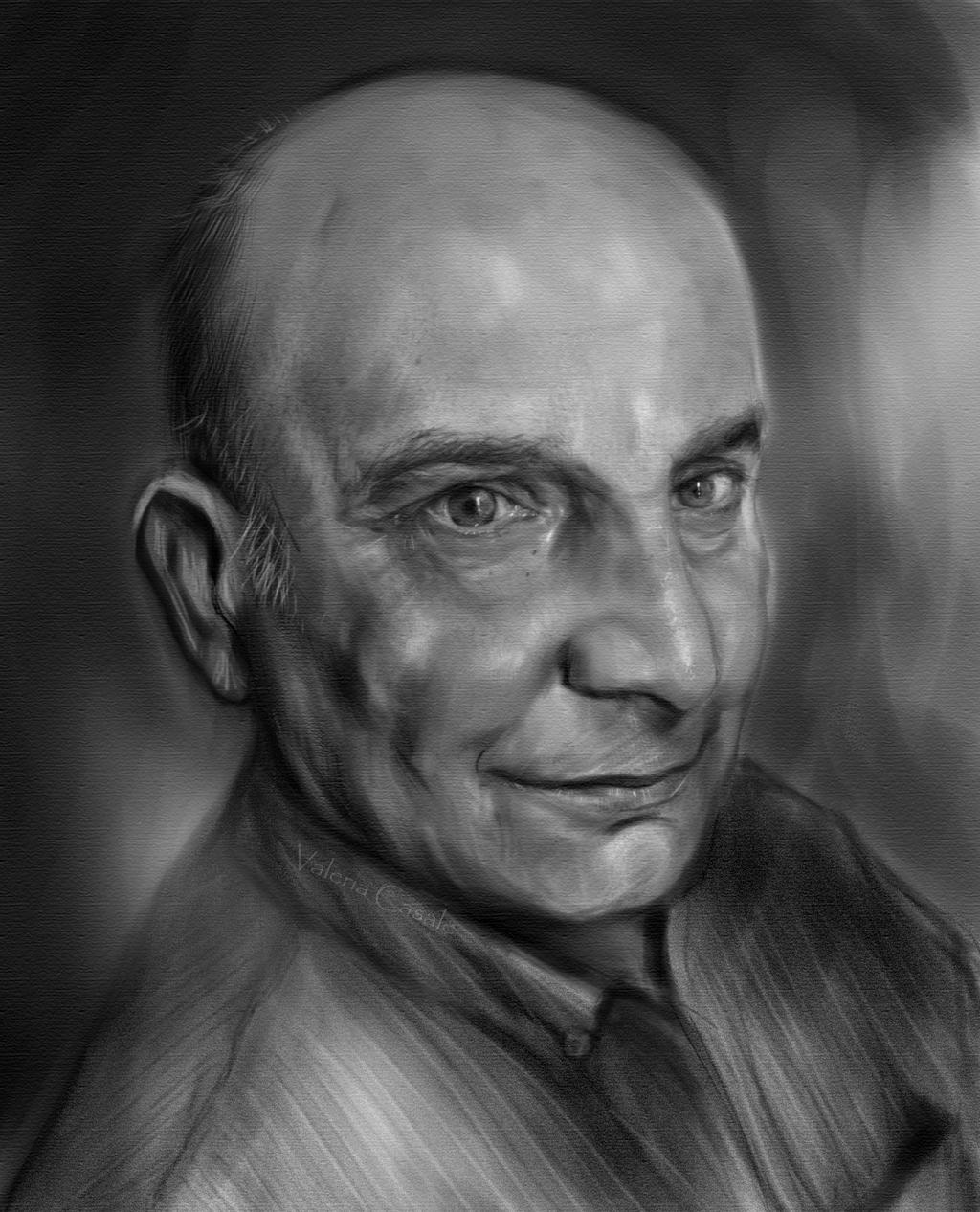 My Father  (Study on a male model) by DarkPowerOfMetal