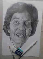 Granny Angela by DarkPowerOfMetal