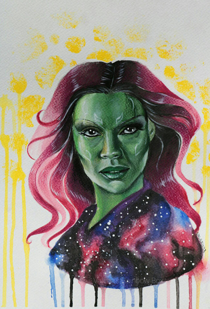 GAMORA by DarkPowerOfMetal