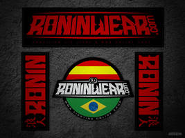 Roninwear Kemono Patches by jnusjnus
