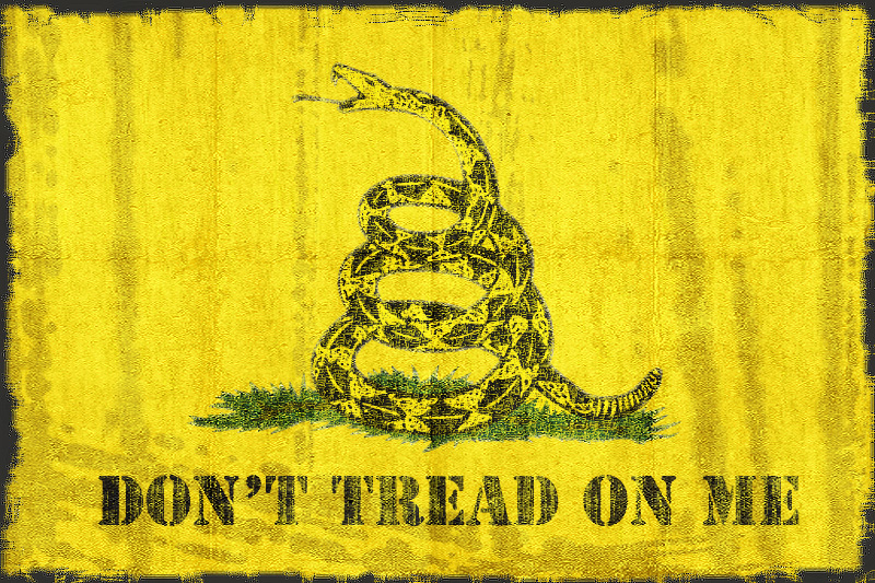Dont Tread On Me By Micebag
