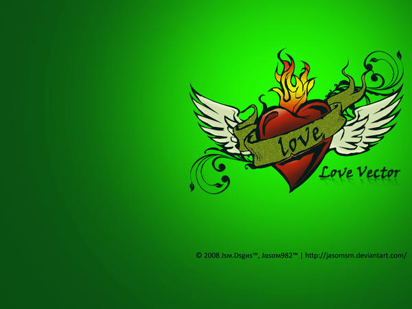 love images wallpaper. Vector Love Wallpaper by