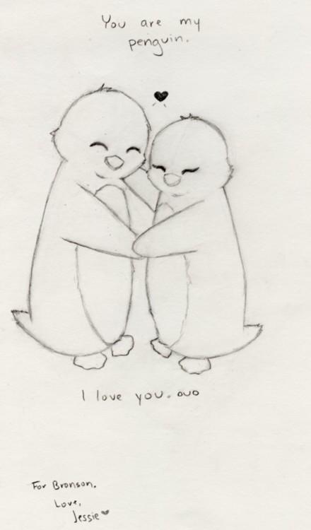 You are my Penguin by KonaJeshika