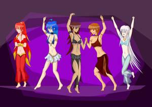 Dancers (request)