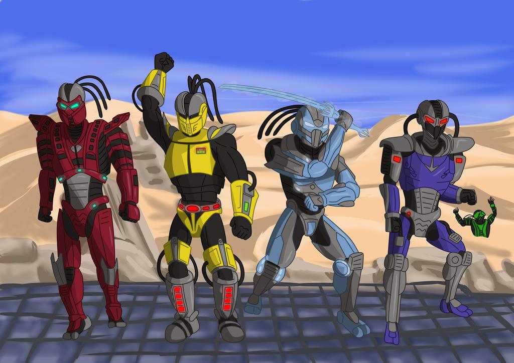 Cyber Ninjas (request) by fullerjames