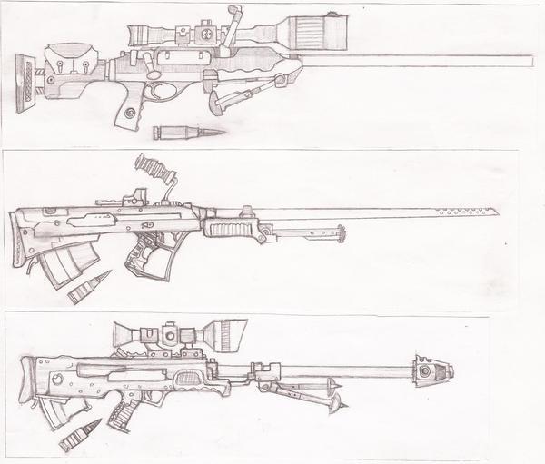 Big Rifles by TheLivingRedBaron