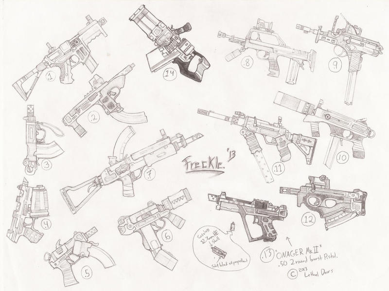 Sketchguns-2 by TheLivingRedBaron