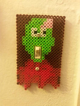 Zombie light switch plate cover