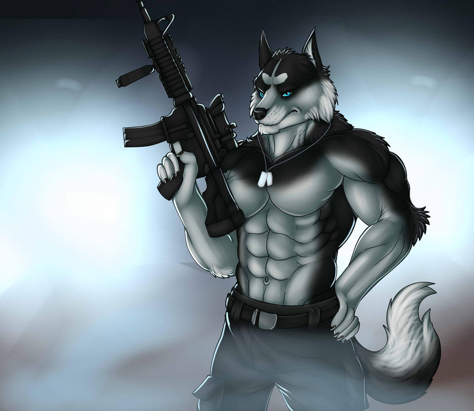 Battle Husky by Marsel-Defender