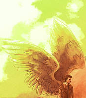 Castiel by Anaeolist