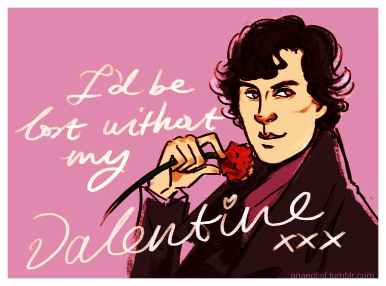 Sherlock valentine by Anaeolist