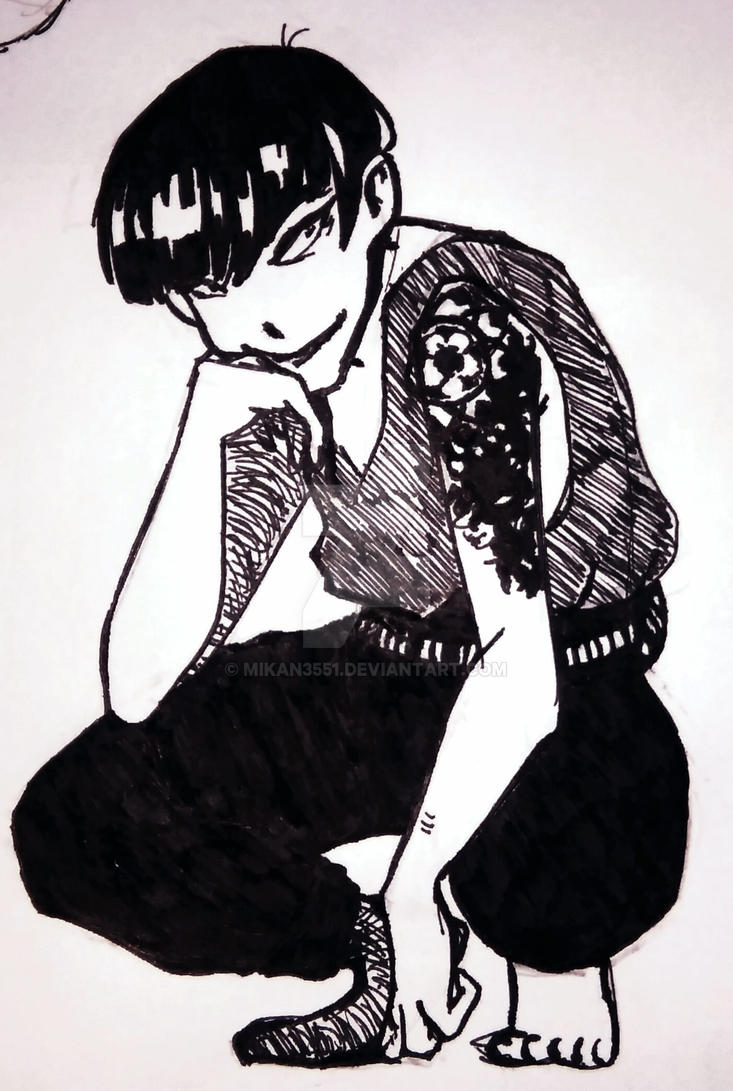ink guy by mikan3551