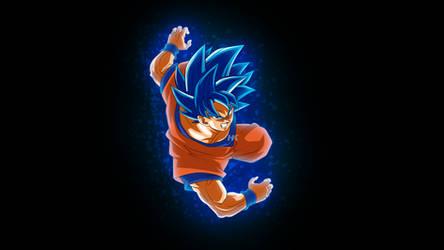 Goku SSJ Blue Evolution by Hkartworks99