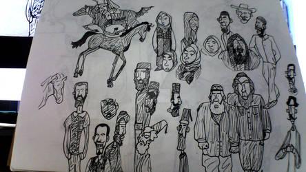 Sketchy Stuff 9