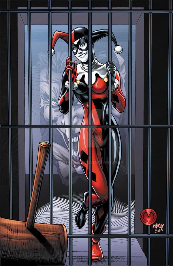 Harley Quinn by RossHughes