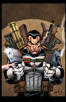 Punisher Print by RossHughes