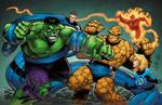Hulk and Fantastic Four
