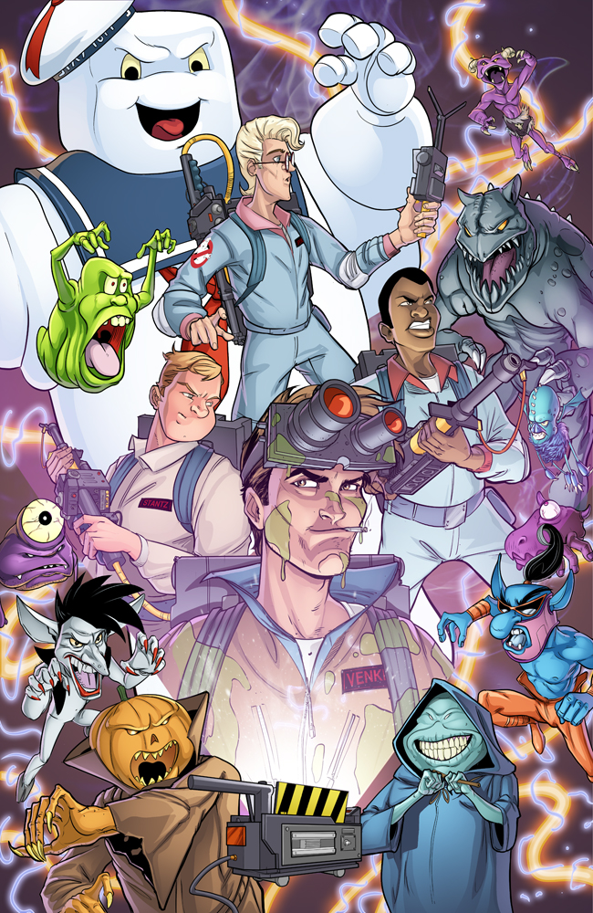 Ghostbusters by RossHughes