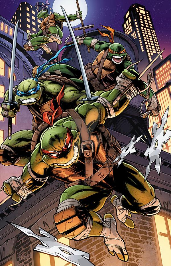 Teenage Mutant Ninja Turtle by RossHughes