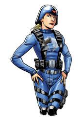 Cobra Officer Rev1 by RossHughes