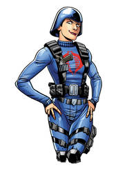 cobra officer RH by RossHughes