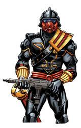 iron grenadier RH by RossHughes
