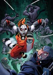 Trash Panda vs Ninjas RH by RossHughes