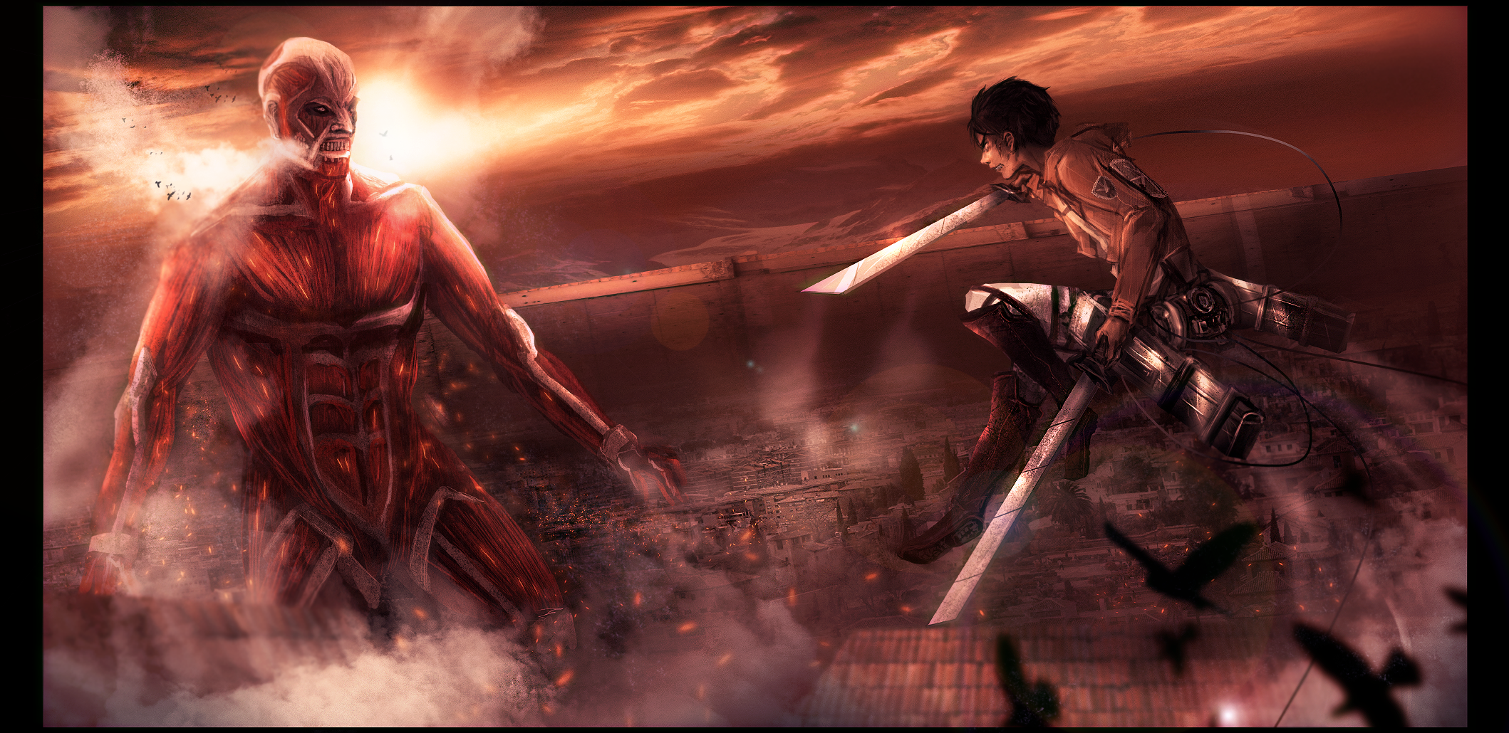 Attack on Titan by Tiffany-Tees