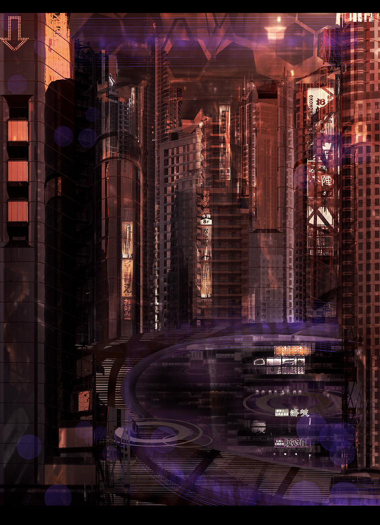 City Speedpaint by Tiffany-Tees