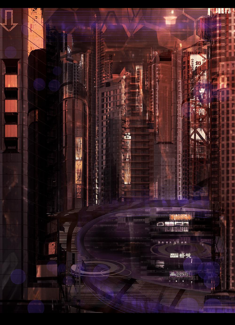 City Speedpaint by Tiffany-Tees
