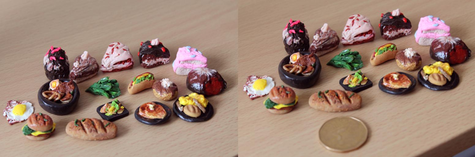 Mini Food by Tiffany-Tees