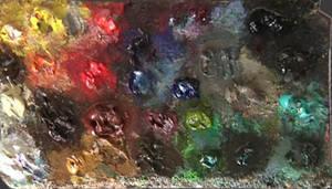 Oil Pallete of Donato