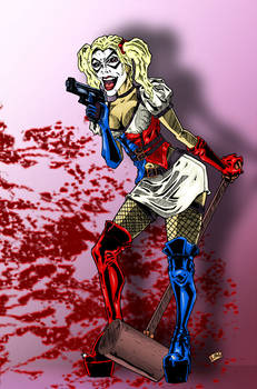 Harley Quinn - Bloodstains