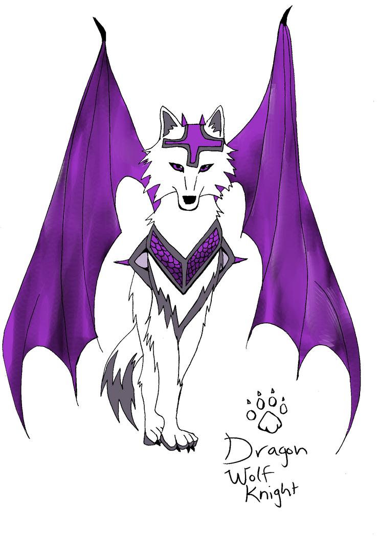 Purple Dragon Wolf Knight TAKEN By Artloverkittenpaws On DeviantArt