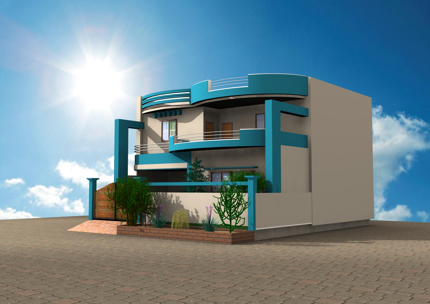 3d home design by muzammil ahmed on deviantart 3d model house design