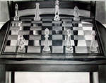 Chess board in Charcoal